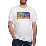 Utah Rainbow Fitted T-Shirt