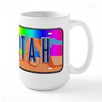 Utah Rainbow Large Mug