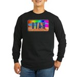 Utah Rainbow Long Sleeve Dark T-Shirt
