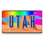 Utah Rainbow Rectangle Sticker 50 pk)