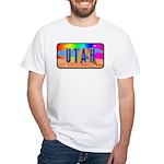 Utah Rainbow White T-Shirt