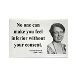 Eleanor Roosevelt 2 Rectangle Magnet