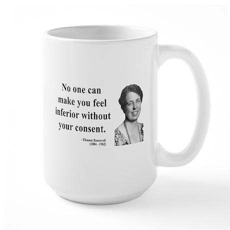Eleanor Roosevelt 2 Large Mug