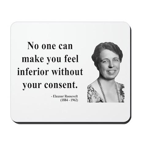 Eleanor Roosevelt 2 Mousepad