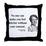 Eleanor Roosevelt 2 Throw Pillow
