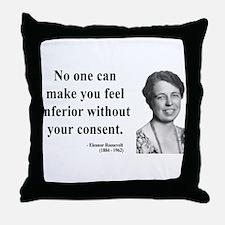 Eleanor Roosevelt 2 Throw Pillow