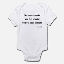 Eleanor Roosevelt 2 Infant Bodysuit