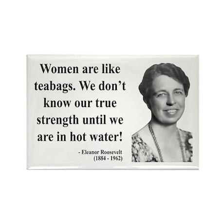 Eleanor Roosevelt 3 Rectangle Magnet (10 pack)