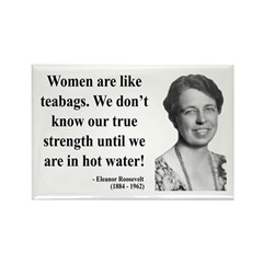 Eleanor Roosevelt 3 Rectangle Magnet
