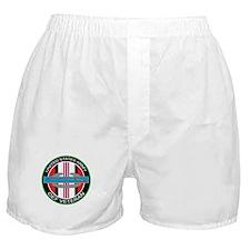 OEF Veteran with CIB Boxer Shorts