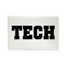 Tech Rectangle Magnet