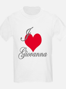 I love (heart) Giovanna T-Shirt