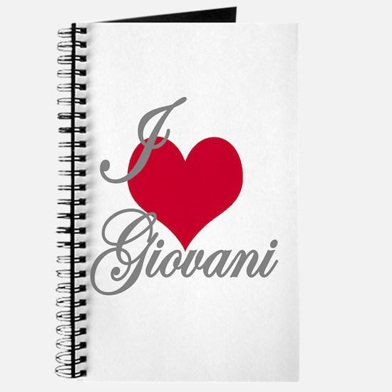 I love (heart) Giovani Journal