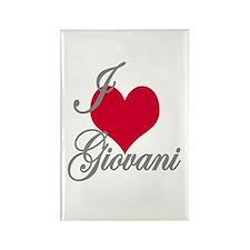I love (heart) Giovani Rectangle Magnet