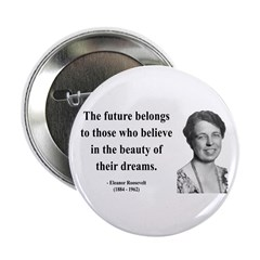 """Eleanor Roosevelt 4 2.25"""" Button (100 pack)"""