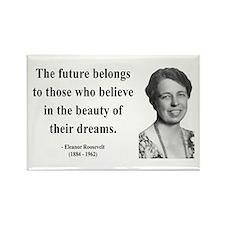 Eleanor Roosevelt 4 Rectangle Magnet