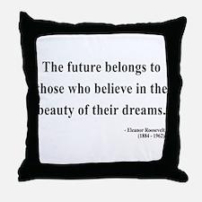 Eleanor Roosevelt 4 Throw Pillow
