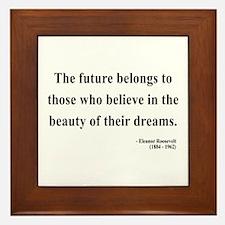 Eleanor Roosevelt 4 Framed Tile