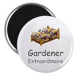 """Gardener Extraordinaire 2 2.25"""" Magnet (10 pack)"""