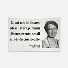 Eleanor Roosevelt 5 Rectangle Magnet