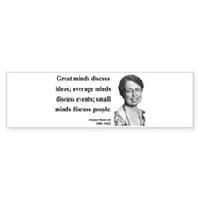 Eleanor Roosevelt 5 Bumper Bumper Sticker