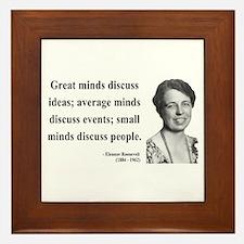 Eleanor Roosevelt 5 Framed Tile