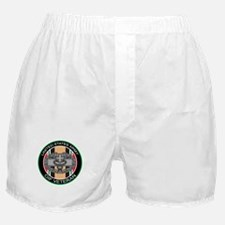OIF Veteran with CMB Boxer Shorts