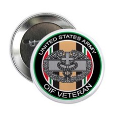"""OIF Veteran with CMB 2.25"""" Button"""