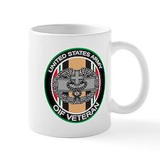 OIF Veteran with CMB Mug