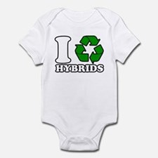 I Heart Hybrids Infant Bodysuit