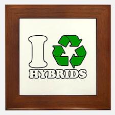 I Heart Hybrids Framed Tile