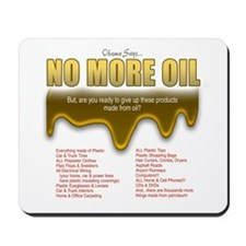 No More Oil Mousepad