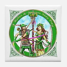 Robin & Marian Tile Coaster