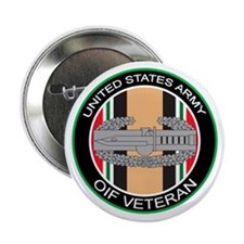 """OIF Veteran with CAB 2.25"""" Button"""