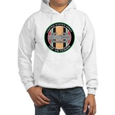 OIF Veteran with CAB Hoodie