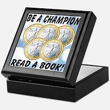 Be A Champion Read A Book Keepsake Box