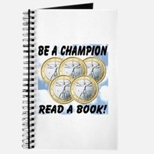 Be A Champion Read A Book Journal