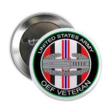 """OEF Veteran with CAB 2.25"""" Button"""