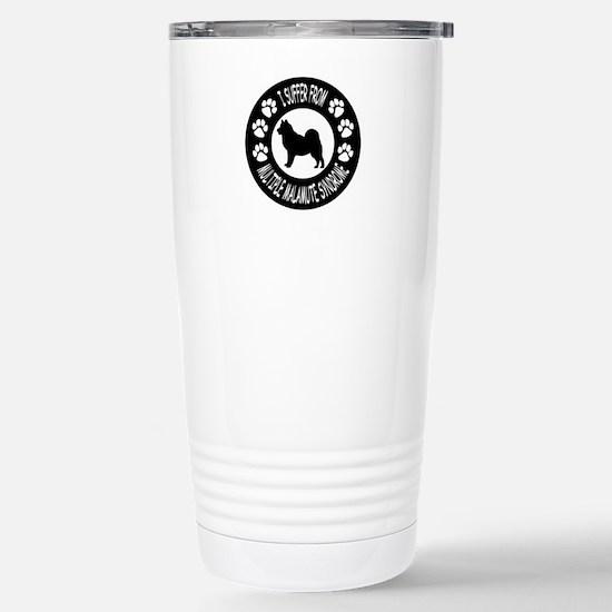 Alaskan Malamute Stainless Steel Travel Mug
