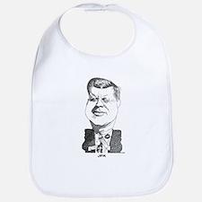 John F Kennedy Bib