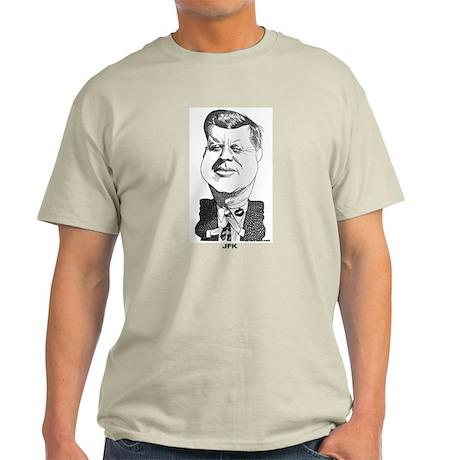 John F Kennedy Light T-Shirt