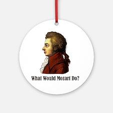 Mozart Ornament (Round)