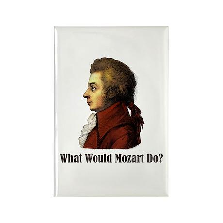 Mozart Rectangle Magnet (10 pack)