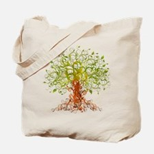 abstract tree Tote Bag