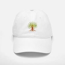 abstract tree Baseball Baseball Cap