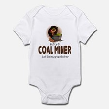 Future Coal Miner like Grandpa Infant Bodysuit