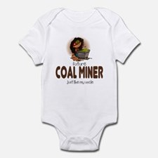 Future Coal Miner like Uncle Baby Infant Bodysuit