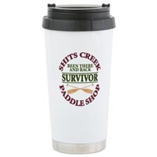 Cute Shit creek Travel Mug
