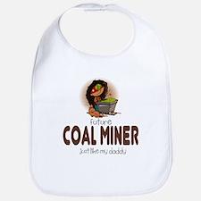 Future Coal Miner like Daddy Baby Infant Bib