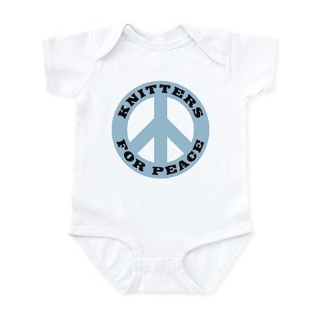 Knitters For Peace Infant Bodysuit